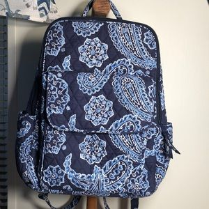 Beautiful Blue Toned Vera Bradley Backpack